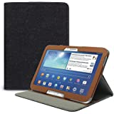 Funda de Piel Estilo Cartera Ejecutivo Celicious Notecase W2 para Samsung Galaxy Tab 3 10.1