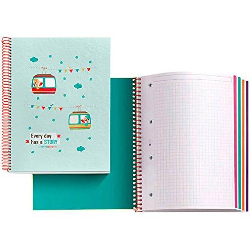 tutticonfetti-2414-cahier-a4-carreaux-bestseller