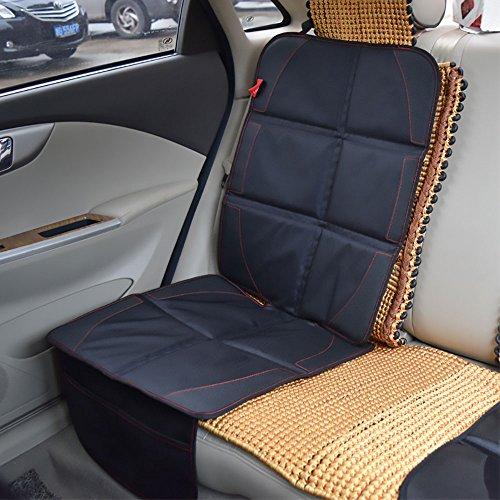 Winthome Autositzschoner Kindersitz Sitzschoner Unterlage auch Rücksitzbank Schutzauflage Schwarz