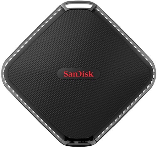 SanDisk Extreme 500 - Disco SSD portátil de 500 GB (hasta 415 Mbps de velocidad de lectura)