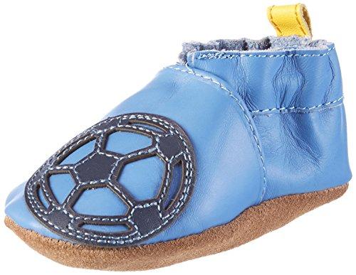 Robeez Soccer Boy Baby Jungen Krabbelschuhe Blau (5)