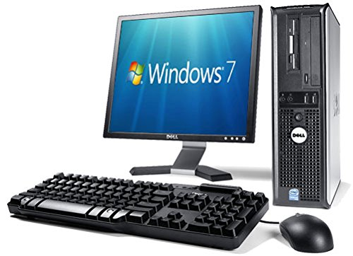 Complete Set of Gaming Ready Dell 780 Dual Core 2.70GHz 8GB GT710 HDMI WiFi Windows 10 Desktop PC Computer (Certified Refurbished)