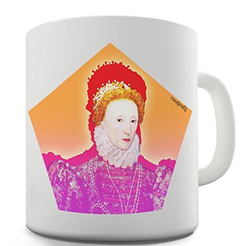 Lustige Kaffee Tasse Becher Modern Elizabeth I