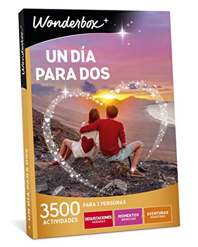 WONDERBOX Caja Regalo UN DÍA para Dos 3.500 Actividades para Dos Personas