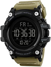 V2A Premium Military Khakhi Digital Multi-Function Chronograph Sports Watch for Men and Boys