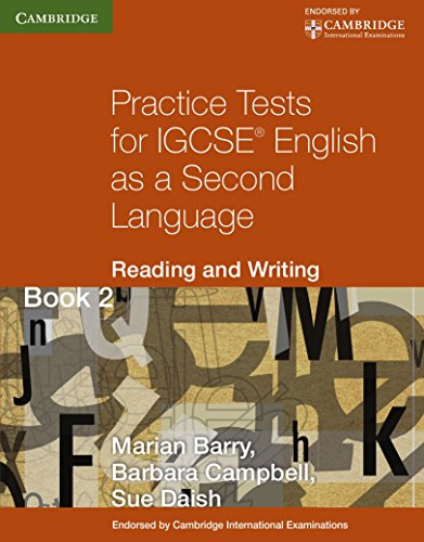 Practice tests for IGCSE. English as a second language: reading and writing. Per le Scuole superiori (Cambridge International IGCSE)