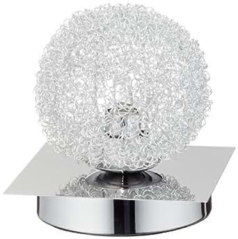 trio 593210106 lampe de table bureau chrome g9 40 w 230 v luminaires et eclairage. Black Bedroom Furniture Sets. Home Design Ideas