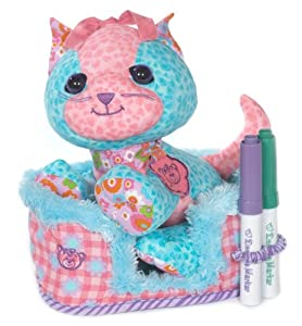 Vivid Imaginations Doodle Pets-Peluche Accent Pet-Kitty
