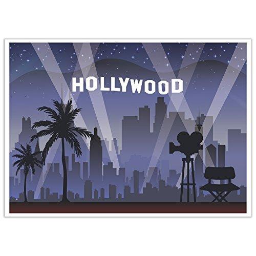 Photo Booth Hintergrund Hollywood Fotografie Hintergrund Ideal für Hollywood Thema Geburtstag Parteien 5x 7Füße