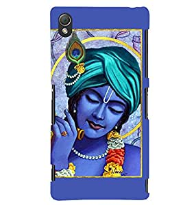 Lord Krishna 3D Hard Polycarbonate Designer Back Case Cover for Sony Xperia Z3 Compact :: Sony Xperia Z3 Mini :: Sony Xperia Z3 D5803, D5833