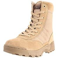 Original S.W.A.T. Men's Classic 9 Inch Side-zip Tactical Boot, Tan, 11.5 D US