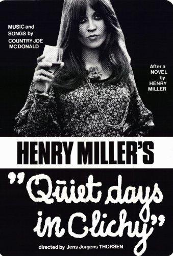 Quiet Days in Clichy Movie Poster (27,94 x 43,18 cm)
