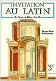 Invitation au latin 3e, de César à Marc Aurèle de Gason ,Lambert ( 1 janvier 1990 ) - Magnard (1 janvier 1990)
