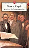 Max et Engels Manifeste du Parti communiste - Le livre de poche