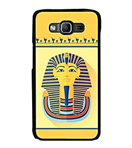 Fiobs Designer Back Case Cover for Samsung Galaxy J7 J700F (2015) :: Samsung Galaxy J7 Duos (Old Model) :: Samsung Galaxy J7 J700M J700H (jaipur rajasthan african america cross pattern)