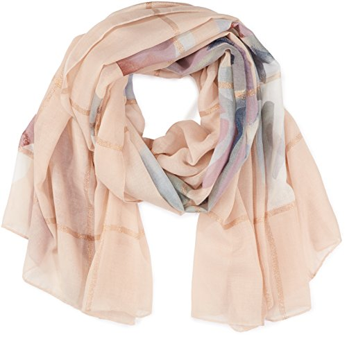 PIECES Damen PCRICCO LONG SCARF Schal, Mehrfarbig (Cameo Rose), One Size