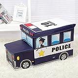WYQY Aufbewahrungsbox für Kinderspielzeug Cartoon Feuerwehr Aufbewahrungsbox