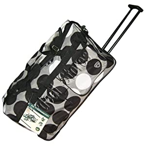 "27"" (70 L) Trolley Bag Wheeley Bag Rolling Luggage Black by Aerolite"