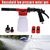 900ML Portable Car Truck Cleaner Wash Pressure Water Snow Foam Sprayer Gun By Yourig