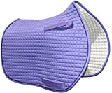 Colorful Pony Sattel Pads | PRI Pacific Rim, Lavender with Black Trim, Pony Saddle Pad