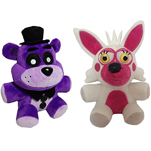 New Arrival Fnaf Foxy Fox and Bear Plush Soft Toy Doll For Kids Neue Ankunft Foxy Fuchs und Bär Plüsch Stofftier Puppe Für Kinder Soft-fuchs Stofftier