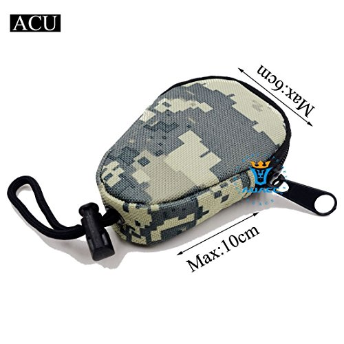 Multifunktions Mini Survival Gear Tactical Beutel MOLLE POUCH Coin Schlüssel Pouch, Outdoor Camping Tragbare Travel Bags Handtaschen Werkzeug Taschen Taille Tasche ACU