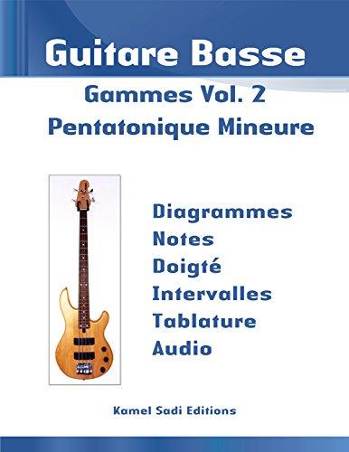 Guitare Basse Gammes Vol. 2: Pentatonique Mineure