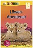 SUPERLESER! Löwen-Abenteuer: 1. Lesestufe Sach-Geschichten für Leseanfänger