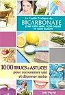 Le guide pratique du bicarbonate par Peyret
