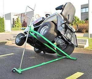 Deckelheber Rasentraktor Aufsitzmäher/Rasentraktor seitlich oder schraubbar - 350 kg-LawnBoss LMVL