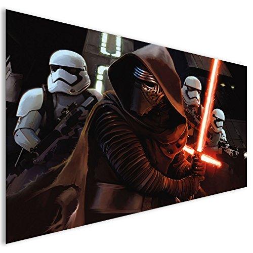 Sie Ein Lichtschwert Machen (Braun Kylo ren Star Wars Lichtschwert Fantasy Acrylglas Wand Kunst - XL 140cm x 70cm)