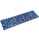 Mantel rectangular de 7 colores de fieltro, mantel de camino, manteles individuales, manteles de mesa huecos para comedor, vajilla para decoración del hogar y decoración de comedor azul real