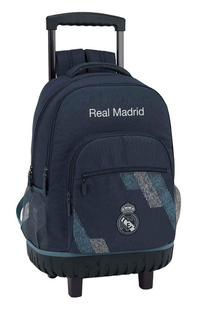 Safta- Mochila Grande Ruedas Compact Real Madrid,, Unica (611834818)