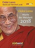 Dalai Lama - Worte der Weisheit 2018 Textabreißkalender -