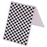 everpert poco amor patrón plástico carpetas de repujado para DIY tarjetas álbum de fotos álbumes de recortes decoración suministros