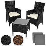 TecTake-Salon-de-jardin-Table-de-jardin-en-aluminium-et-poly-rotin-resine-tressee-chaises-salon-dexterieur-noir-deux-set-de-housses-vis-en-acier-inoxydable