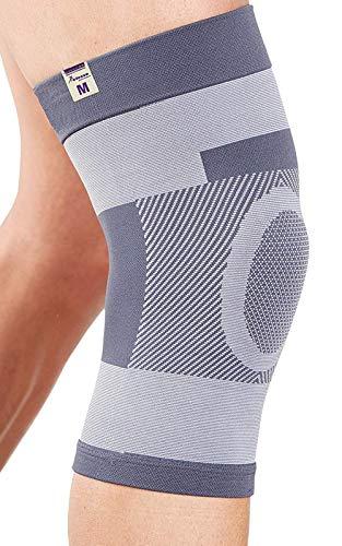 Actesso Kompression kniebandage kniestütze :: Dies kniegelenkbandage ist ideale für Knieverletzung, Zerrungen Order für Sportverletzung. Ideale für Männer & Frauen (Mittelgroß (36-39))
