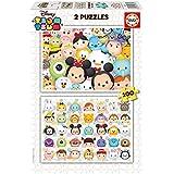 Tsum Tsum - 2 puzzles Disney, 100 piezas (Educa Borrás 16862)