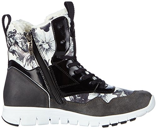 Tamaris 26299, Sneakers Hautes femme Multicolore (black Comb 098)