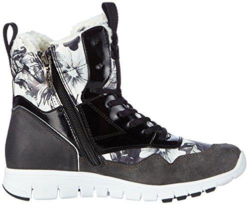 Tamaris - 26299, Sneaker Donna Multicolore (mehrfarbig (peigne Noir 098))