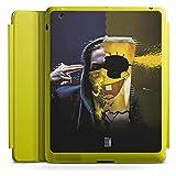 Apple iPad 2 Smart Case limette Hülle mit Ständer Schutzhülle Spongebozz Fanartikel Merchandise Sun Diego
