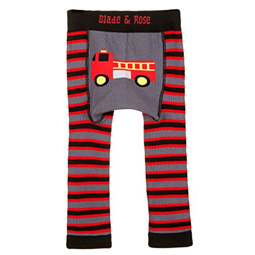 Lama e rosa Fire Engine Leggings black,red 1-2 Anni