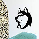 Animali da compagnia Adesivi murali in vinile Decorazione Grooming Salon Stickers murali Negozio di animali domestici Carta da parati Camera dei bambini Muro fai da te Tatuaggi murali 56 * 89cm