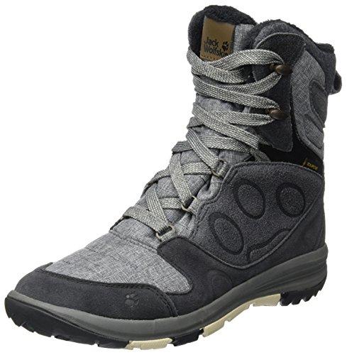 Jack Wolfskin Damen Vancouver Texapore High W Trekking-& Wanderstiefel, Grau (Dark Iron), 39.5 EU