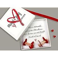 Geldgeschenk zur Hochzeit PERSONALISIERT Herz