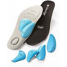 Orthosole Mens Thin Style Einlegesohlen Walking Boots Blau, Blau, 43-44