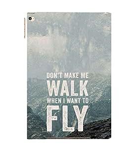EPICCASE Make me fly Mobile Back Case Cover For Apple Ipad 6 (Designer Case)