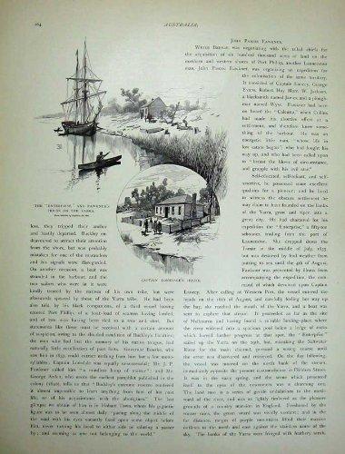 Unternehmens-Schiff 1886 Australiens William Buckley Lonsdale