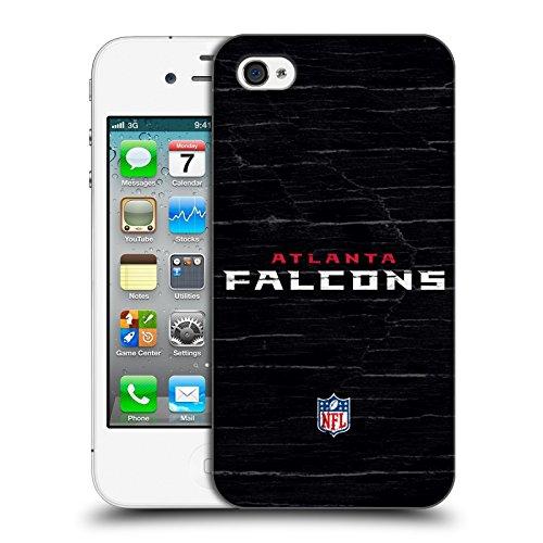 Offizielle NFL Einfarbig Atlanta Falcons Logo Ruckseite Hülle für Apple iPhone 6 / 6s Verzweifelt
