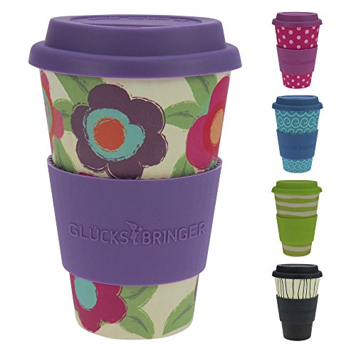 Termo biodegradable de café. 5 colores a elegir